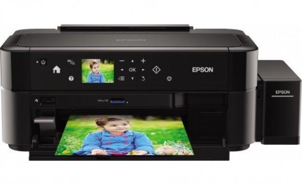 Принтер Epson L810 с оригинальной СНПЧ и чернилами Epson