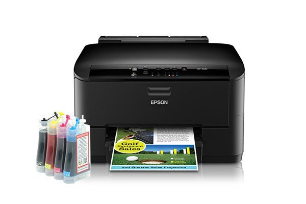 изображение Epson WorkForce Pro WP-4020 с СНПЧ 2