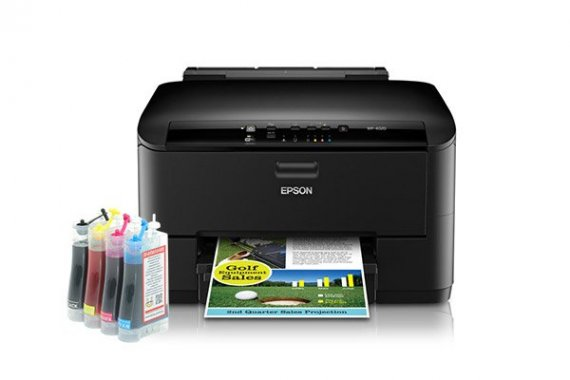 изображение Epson WorkForce Pro WP-4020 с СНПЧ 1