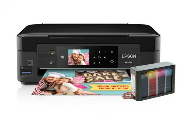 изображение МФУ Epson Expression Home XP-434 с СНПЧ HighTech