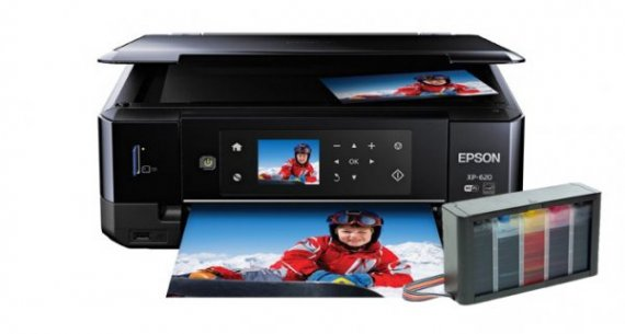 изображение МФУ Epson Expression Premium XP-620 Refurbished с СНПЧ