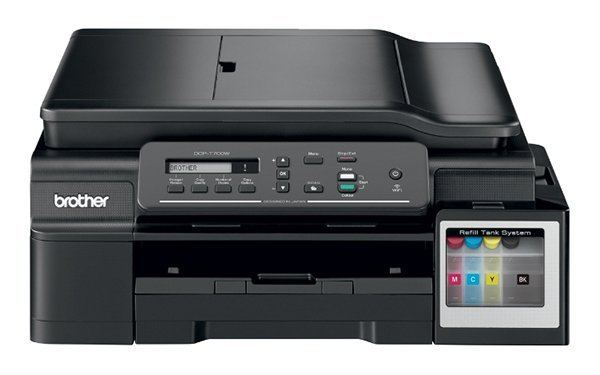 изображение МФУ Brother DCP-T700W InkBenefit Plus c СНПЧ и чернилами Lucky Print 1