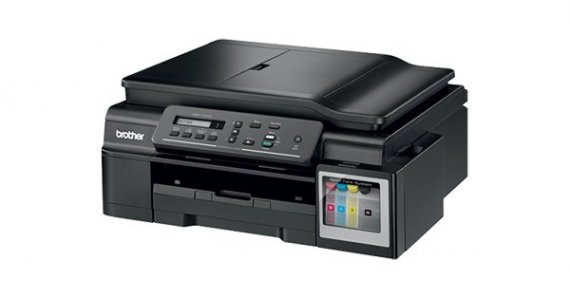 изображение МФУ Brother DCP-T700W InkBenefit Plus c СНПЧ и чернилами Lucky Print 2