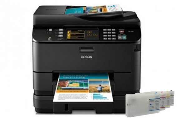 изображение МФУ Epson WorkForce Pro WP-4540 Refurbished с ПЗК