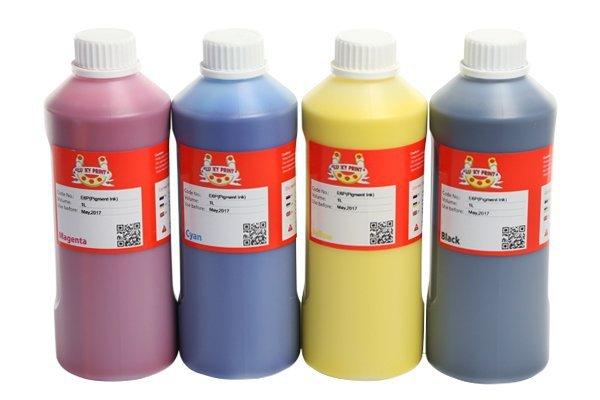 Комплект пигментных чернил Lucky Print 1000 мл (4 цвета)