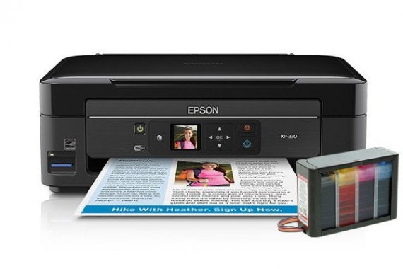 изображение МФУ Epson Expression Home XP-330 с СНПЧ HighTech