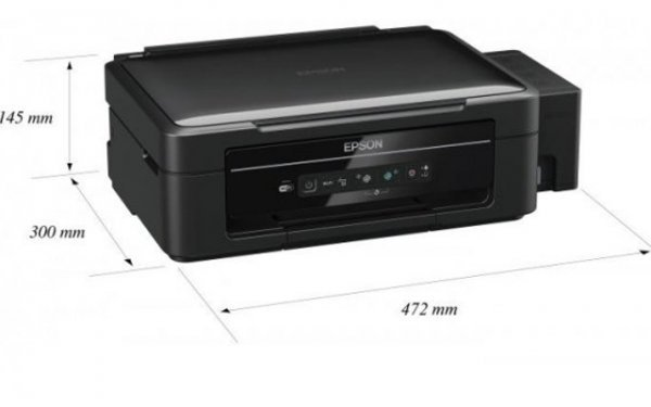 Купить МФУ Epson L355 с СНПЧ и чернилами Epson в интернет ...: http://lucky-print.biz/mfu-epson/l355.html